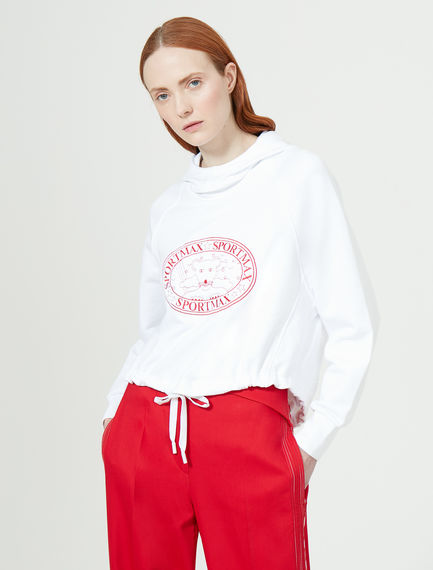 Lion Cub Hooded Sweatshirt Sportmax