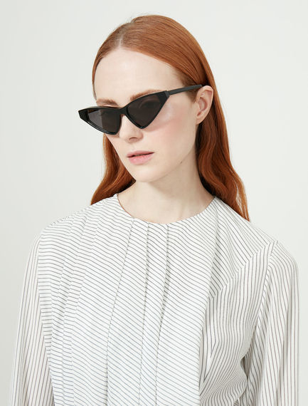 Acetate Cat-Eye Sunglasses Sportmax