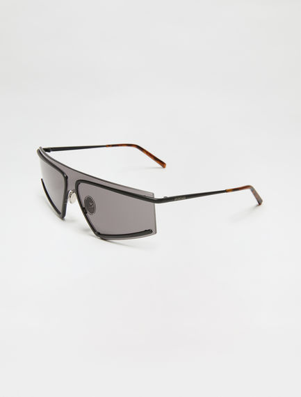 Rimless One-piece Square Sunglasses Sportmax