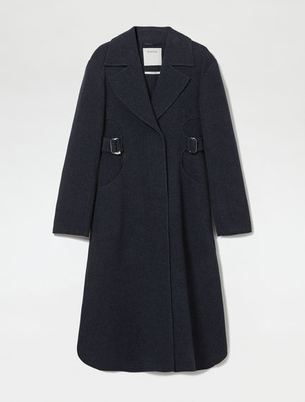 D-ring Cashmere Wool Coat