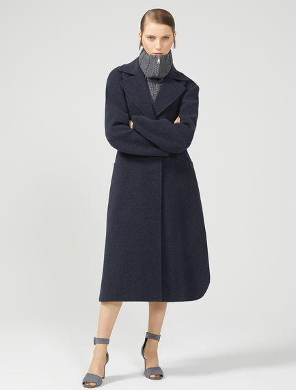 D-ring Cashmere Wool Coat Sportmax