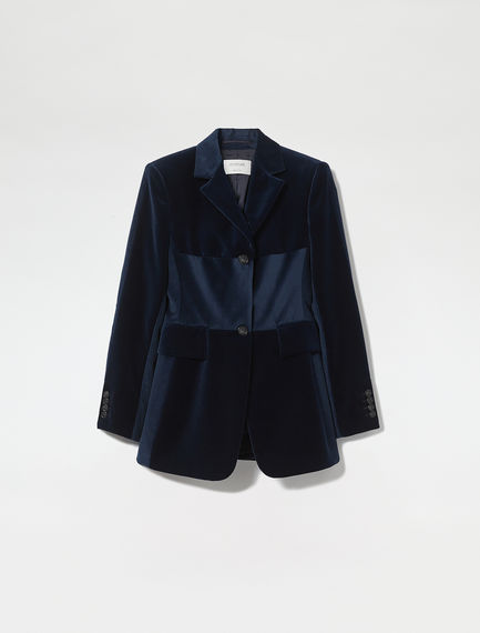 Velvet & Corduroy Tailored Jacket