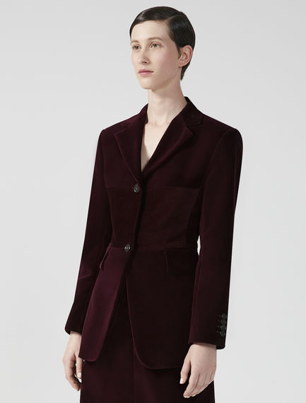 Velvet & Corduroy Tailored Jacket