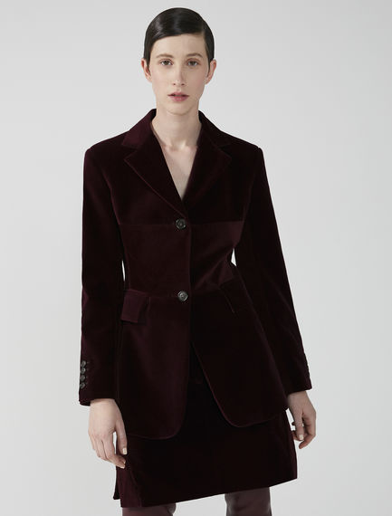 Velvet & Corduroy Tailored Jacket Sportmax