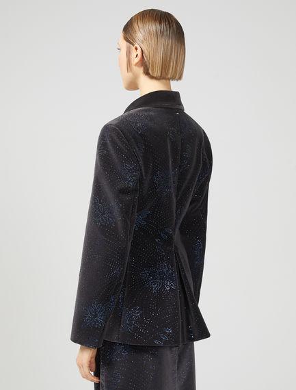 Embellished Velvet Tuxedo