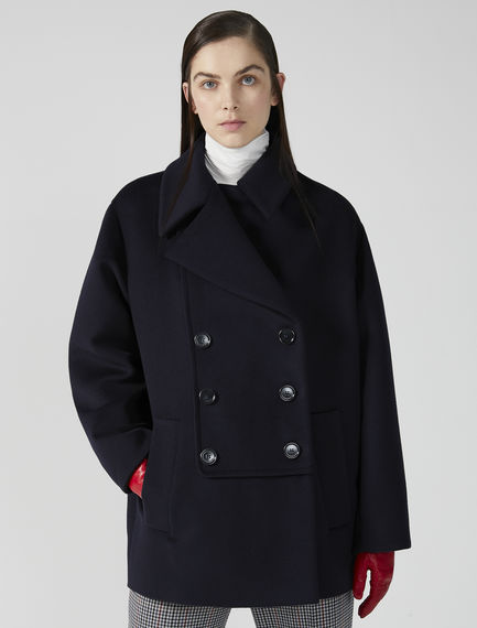Statement Wool Pea Coat