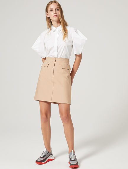 Gabardine Mini Skirt Sportmax
