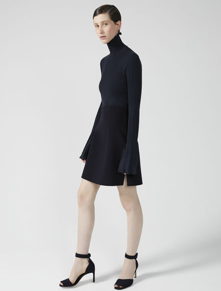 Pure Wool A-Line Mini Skirt Sportmax