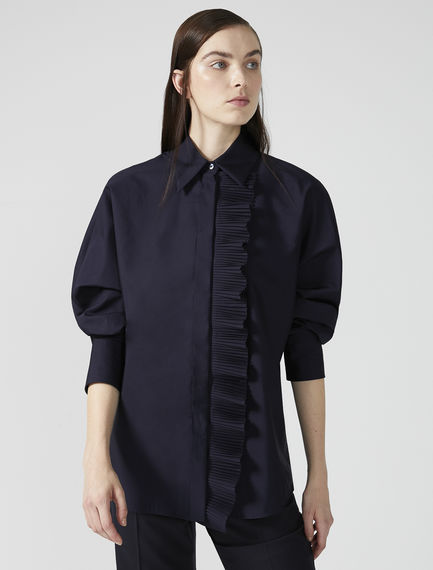 Transforming Pleat-front Dress Shirt Sportmax