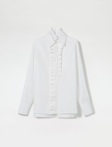 Asymmetric Pleated Shirt