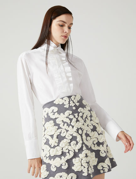 Asymmetric Pleated Shirt Sportmax