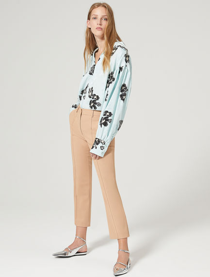 Tailored Trumpet Flare Trousers Sportmax
