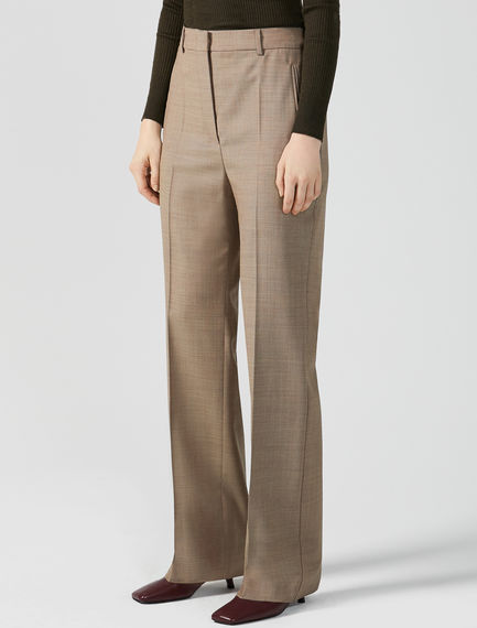 Pantaloni in grisaglia di lana