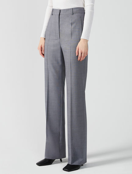 Grisaille Wool Trousers