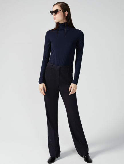 Grisaille Wool Trousers Sportmax