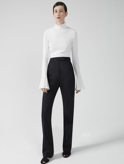 Wool & Satin Trousers Sportmax