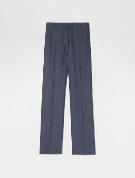 Sartorial Wool Viscose Trousers
