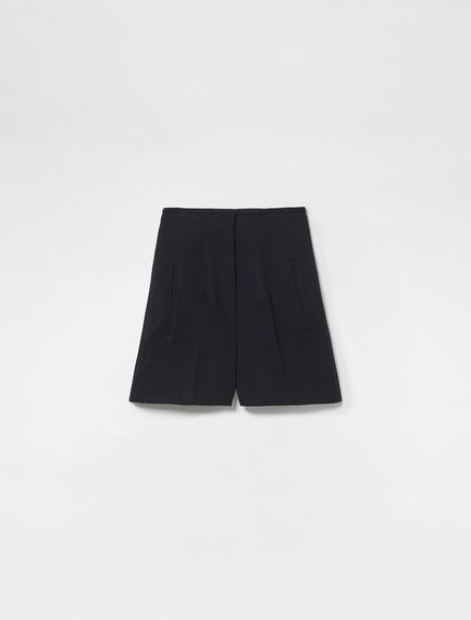 Wool Twill Tailored Shorts