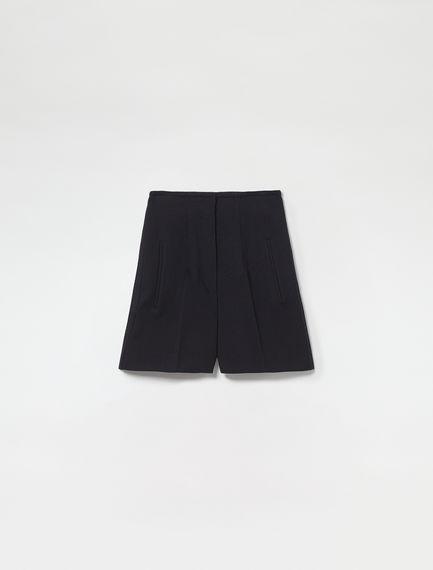 Wool Twill Tailored Shorts