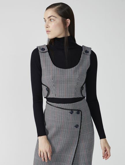 Tailored Wool Bodice