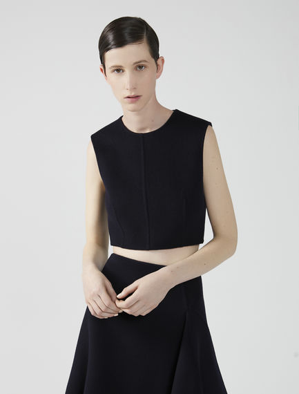 Sleeveless Wool Top Sportmax