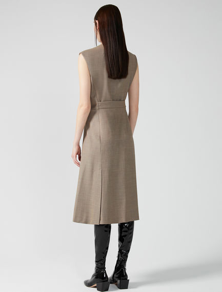 Sleeveless Asymmetric Dress Sportmax