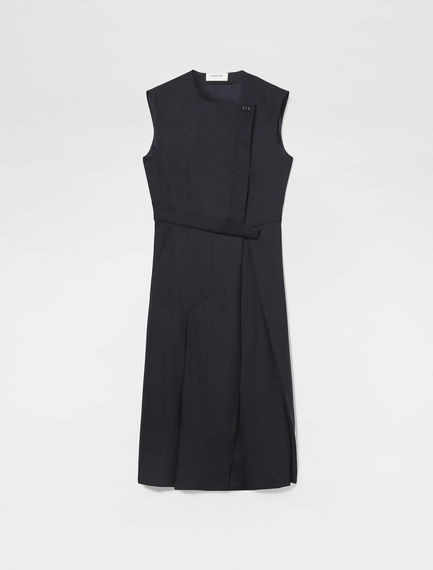 Sleeveless Asymmetric Dress