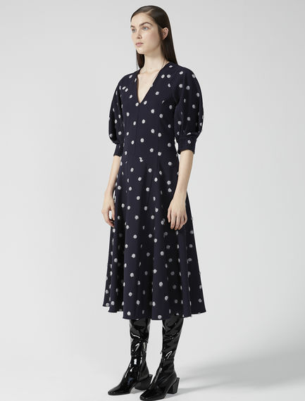 Dotted Tea Dress