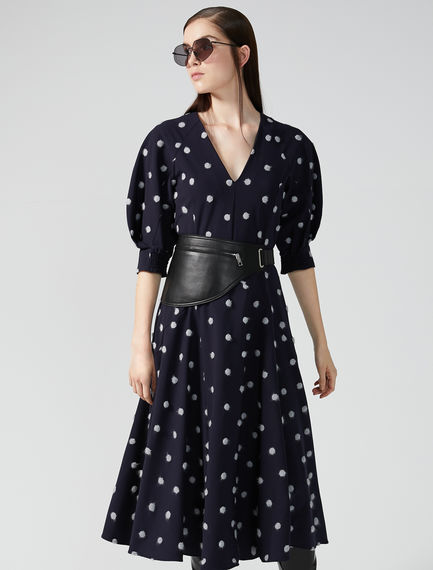 Dotted Tea Dress Sportmax