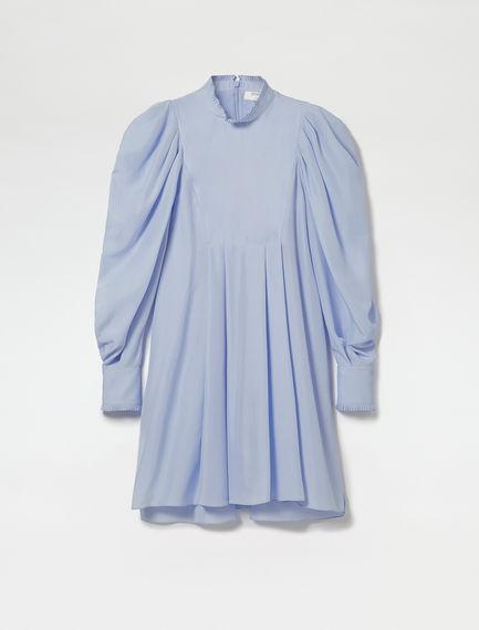 Silk Habotai Bib Dress