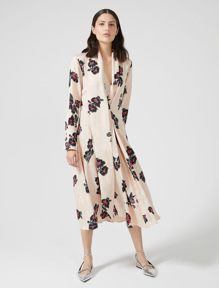 Geometric Print Jacquard Dress Sportmax