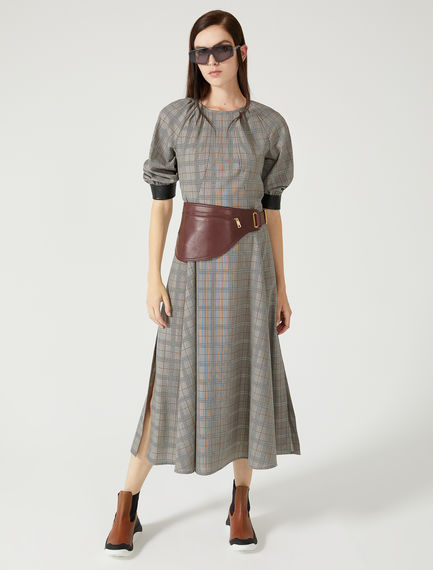 Prince of Wales Check Dress Sportmax