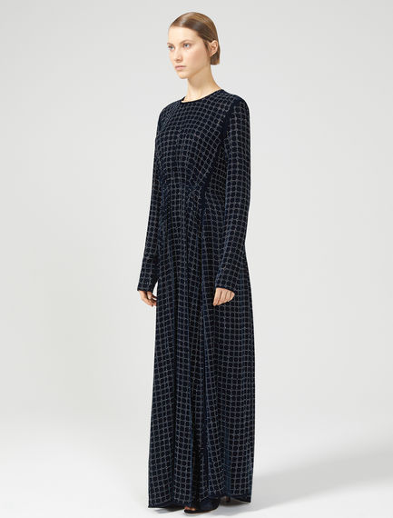 Embellished Velvet Maxi Dress Sportmax