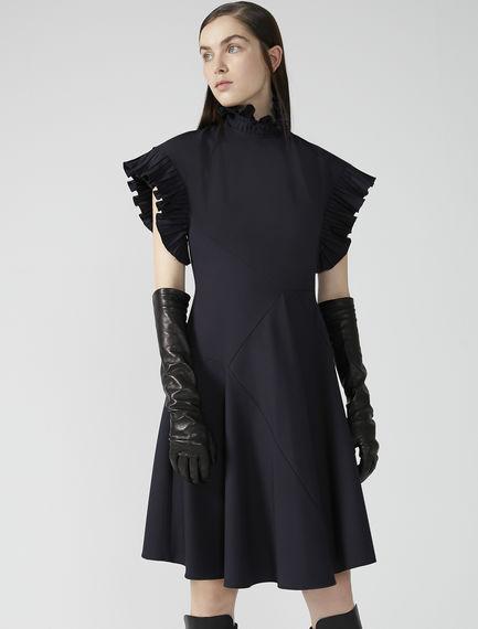 Kimono Ruffle Gabardine Dress Sportmax