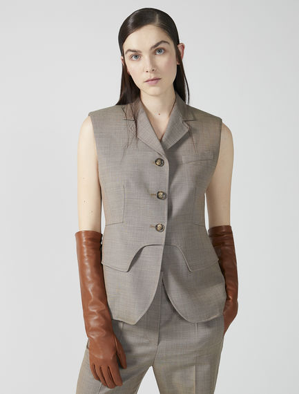 Tailored Wool Gilet Sportmax