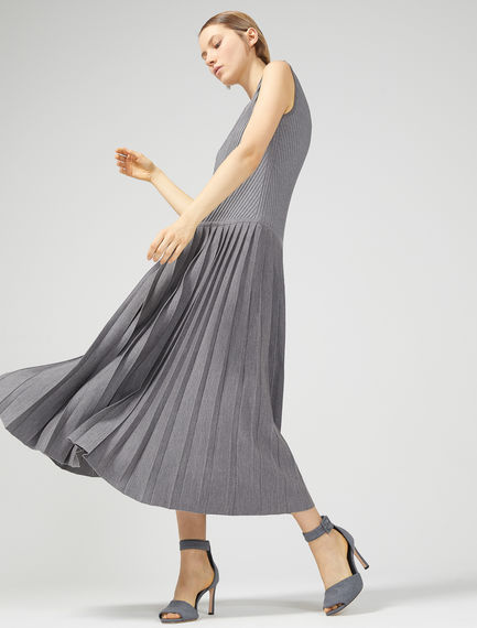Asymmetric Hybrid Maxi Dress Sportmax