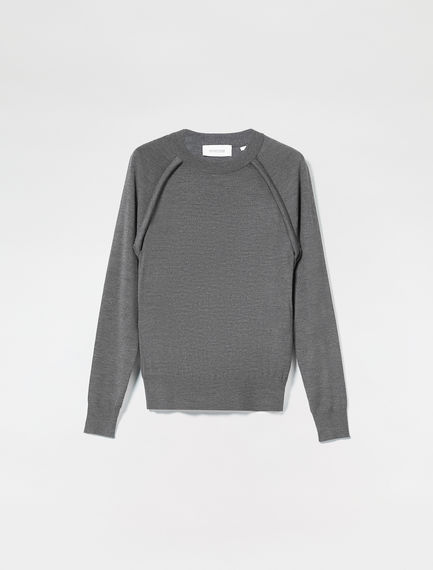 Fitted Knit Sweater