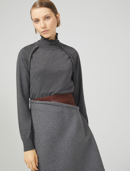 Fitted Knit Sweater Sportmax