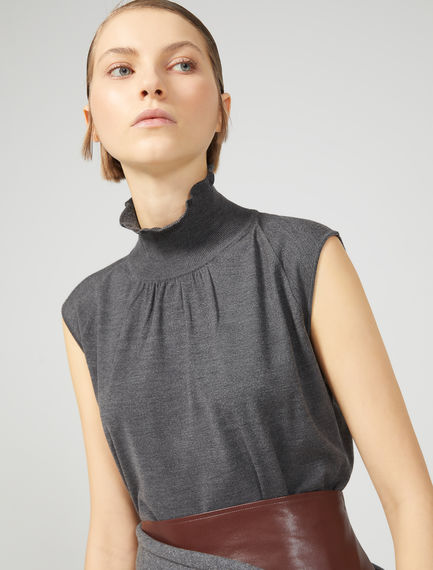 Sleeveless High Neck Sweater Sportmax