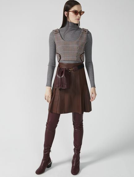 Fine Ribbed Roll Neck Sweater