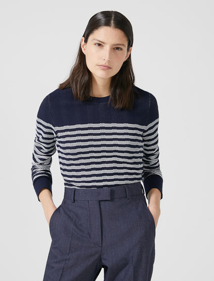 Striped Fusion Sweater Sportmax