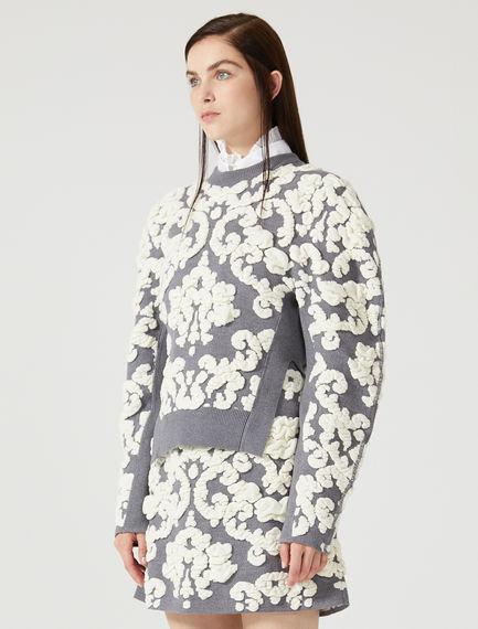 Maglia con maniche a kimono
