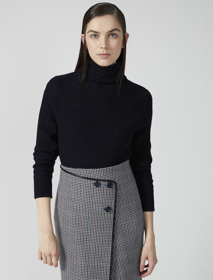 Textured Wool Sweater Sportmax