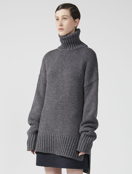 Oversized Turtleneck Jumper