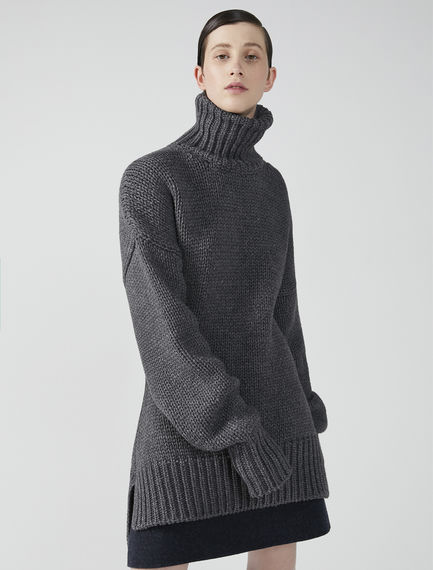 Oversized Turtleneck Jumper Sportmax