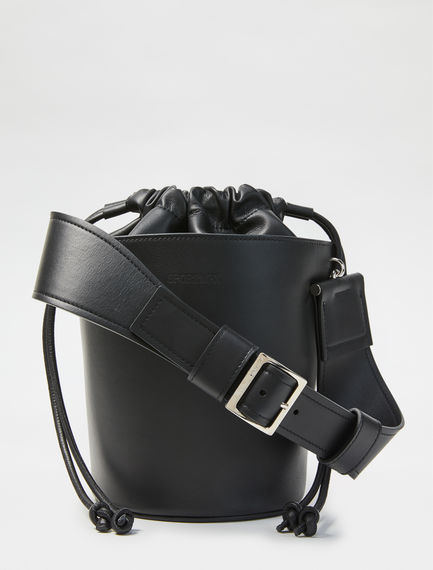 Calfskin Bucket Bag Sportmax