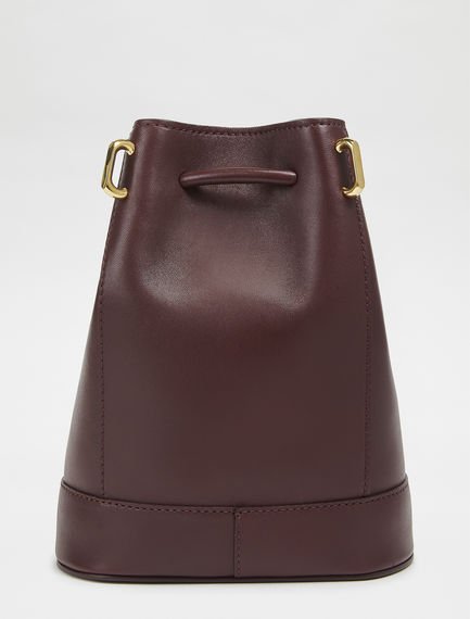 Nappa Leather Mini Bucket Bag