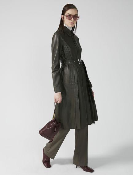 Nappa Leather Mini Bucket Bag