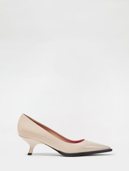 Sculpted Heel Patent Stilettos Sportmax