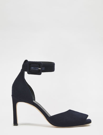 Peep-toe Ankle Strap Sandals